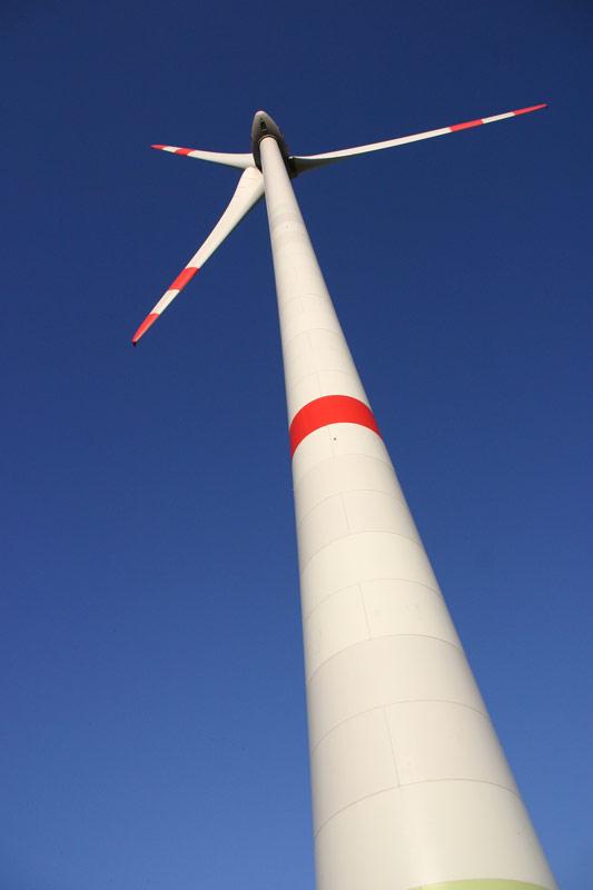 Unsere Windkraftanlage in Eimsheim